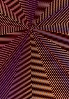 最小限のカバーデザインテンプレート。モダンなパンフレットのレイアウト。ワインレッドの背景にオレンジ色の鮮やかなハーフトーンのグラデーション。ジューシーでトレンディな抽象的なカバーデザイン。 Premiumベクター
