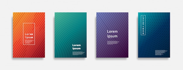 Minimal covers colorful line