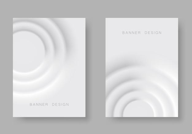 Минималистичный дизайн обложек. геометрические градиенты. eps10 вектор.