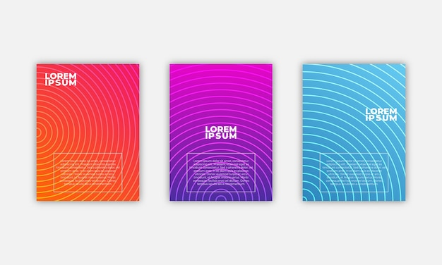 Minimal covers design. geometric template.