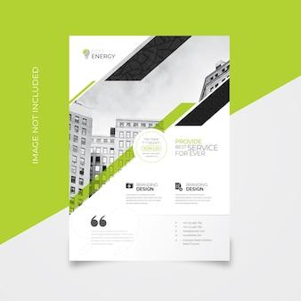 Minimal creative flyer