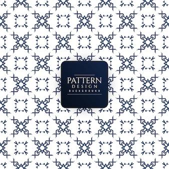 Minimal decorative pattern design