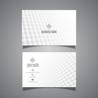 Minimal design business card
