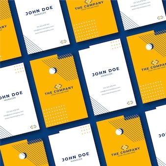 Minimal design for business card