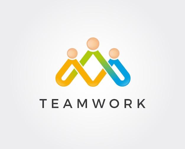 Minimal family logo template