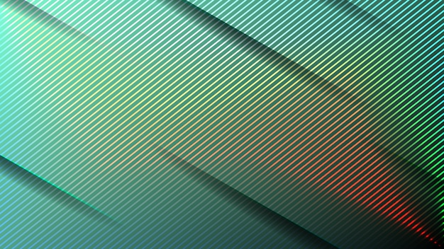 Minimal geometric abstract vivid color background. futuristic design gradient with stripes. illustrations