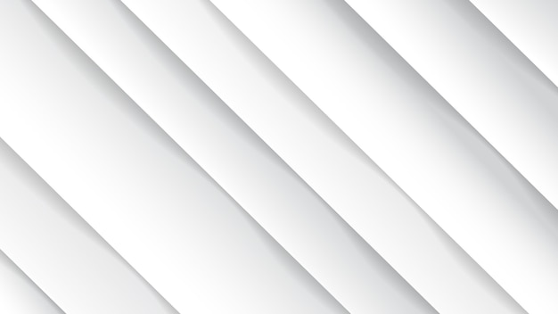 Minimal geometric abstract white background,paper effect. futuristic design gradient with stripes.