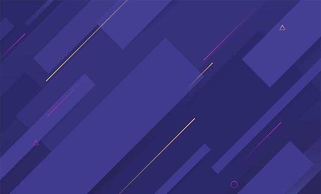 움직이는 동적 모양의 최소한의 기하학적 배경입니다. 배너, 웹 페이지, 추상적인 기술 배경을 디자인합니다.
