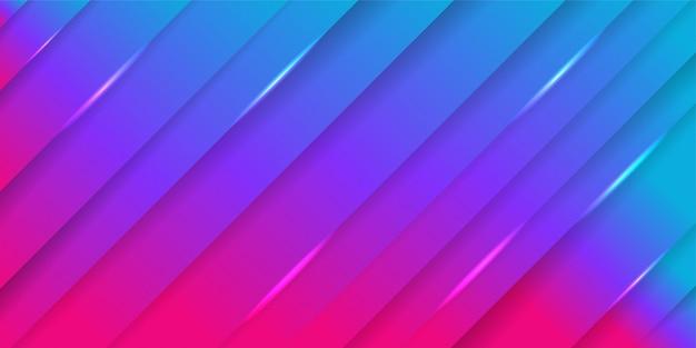 Minimal geometric background with dynamic shapes