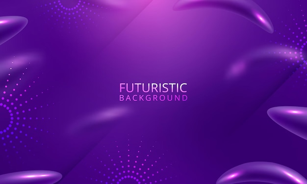 Minimal geometric background with gradient colors