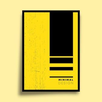 チラシ、ポスター、パンフレットの表紙、背景、壁紙、タイポグラフィ、その他の印刷製品の最小限の幾何学的デザイン。ベクトルイラスト。