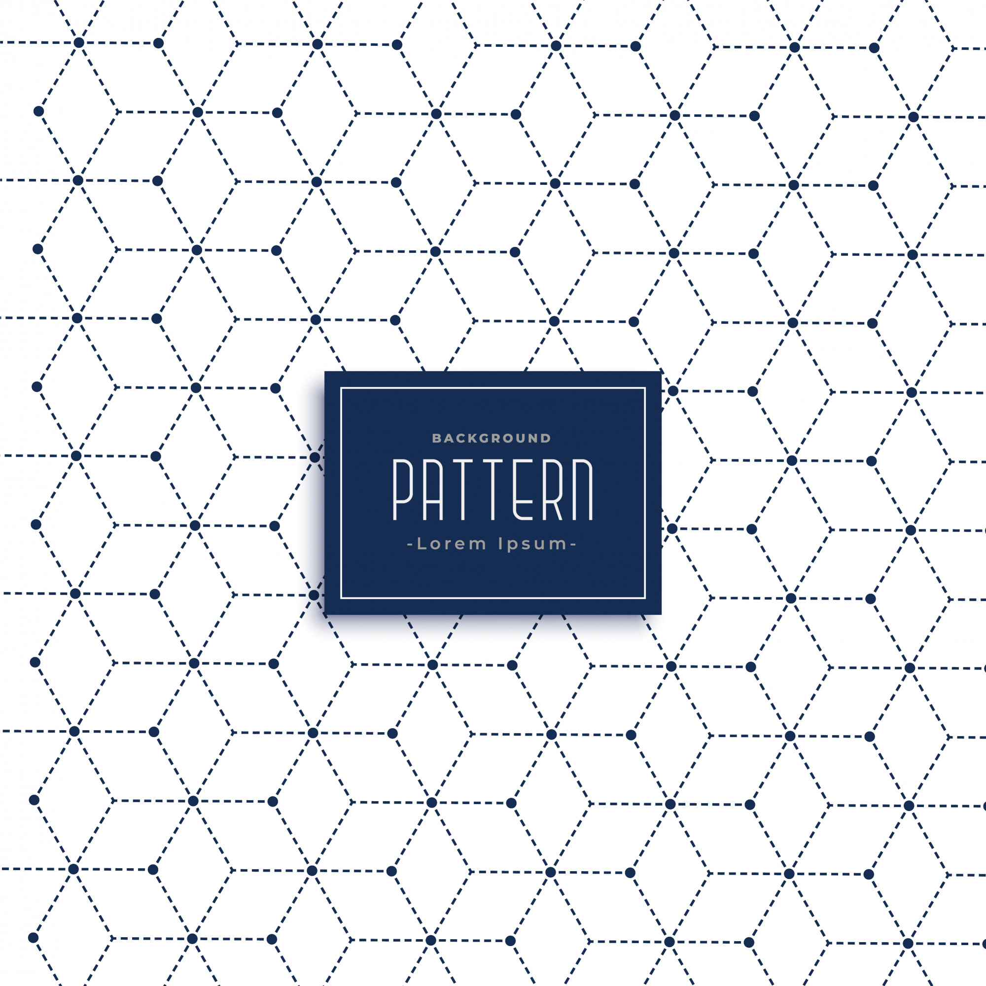 Minimal geometric lines pattern background