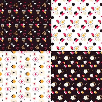 Collezione minimal design geometrico