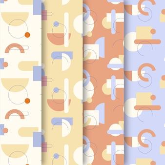 최소한의 기하학적 패턴 모음