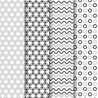 Minimal geometric pattern collection