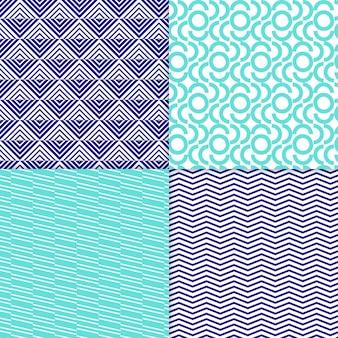Minimal geometric pattern pack