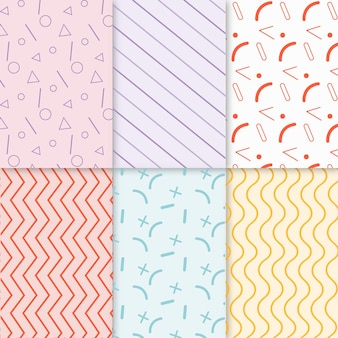 Minimal geometric pattern pack