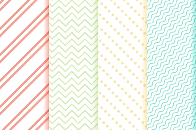 Minimal geometric pattern set