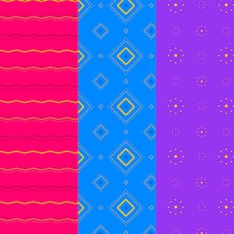Minimal geometric pattern set