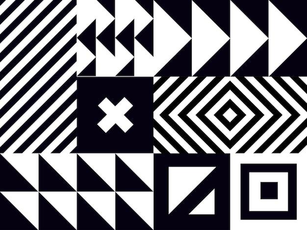 Минимальный геометрический узор вектор дизайн. минималистичный геометрический фон. простой фон с фигурами.