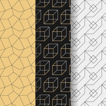 Minimal geometric patterns design