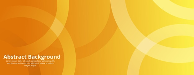 Minimal geometric yellow background