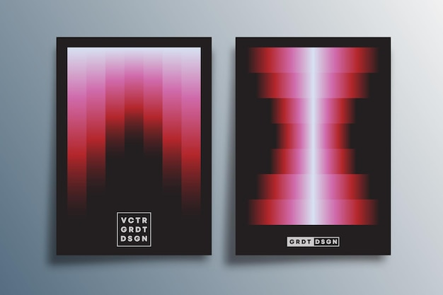 Минимальный градиентный дизайн для плаката, флаера, обложки брошюры, шаблона презентации, типографики или другой полиграфической продукции. векторная иллюстрация.