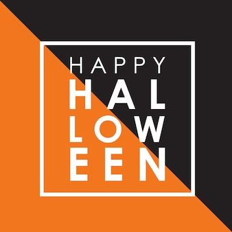 Minimal Halloween background