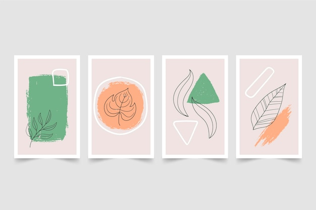 Minimal hand drawn cover collection