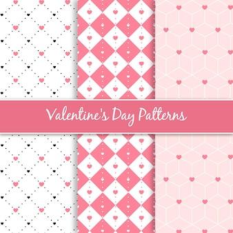최소 하트 패턴 컬렉션