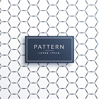 Minimal hexagonal pattern