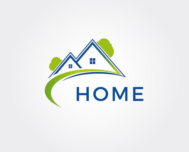 Минимальный шаблон домашнего логотипа