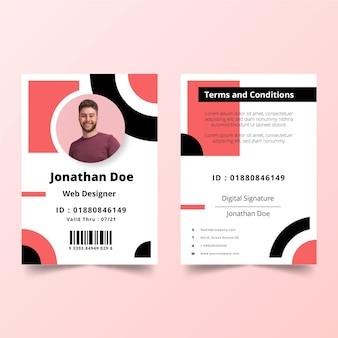 Il minimo concetto di modello di carte d'identità