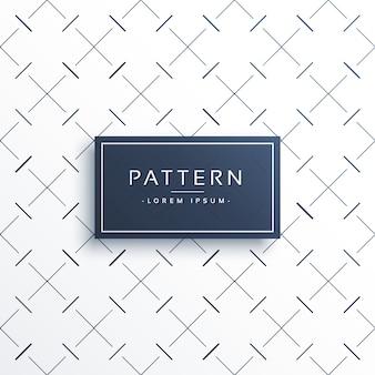 대각선을 교차하는 최소 패턴