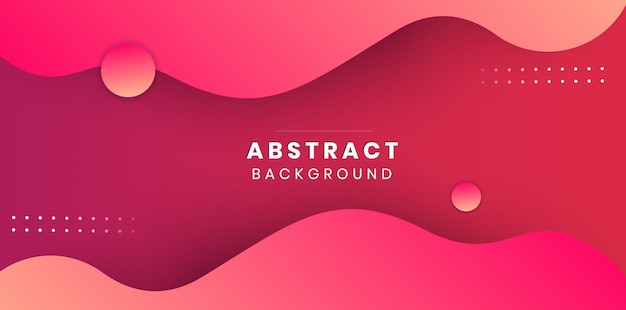 Minimal pink abstract background