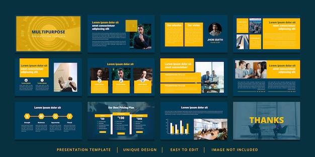 Минимальный шаблон презентации powerpoint
