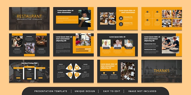 Minimal powerpoint presentation template