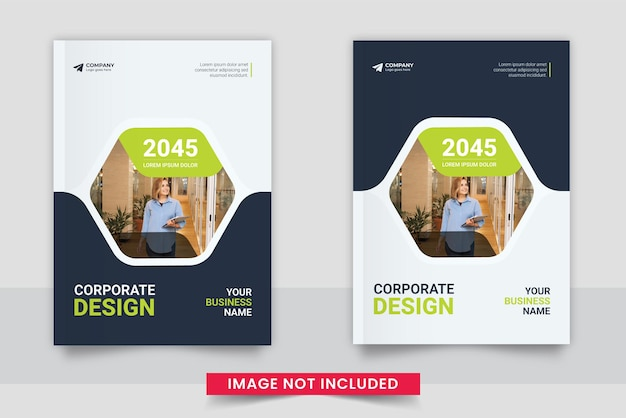 Минимальный профессиональный набор шаблонов обложки корпоративной книги