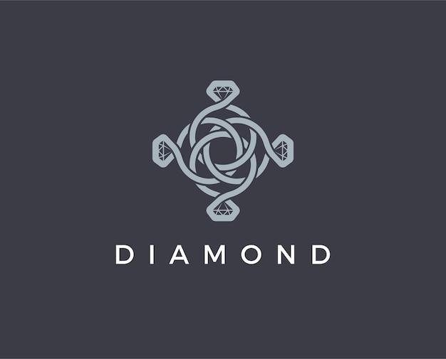 Minimal ring logo template