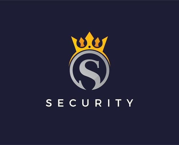 Minimal s letter logo template