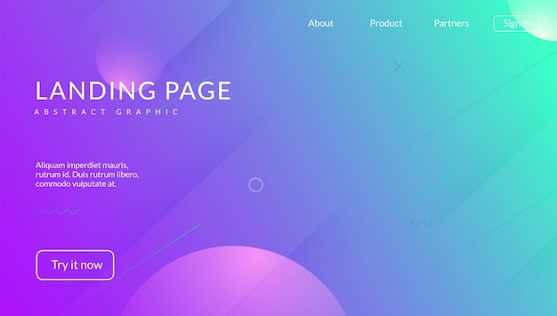 Minimal shape. purple trendy design. graphic frame. commercial invitation. art landing page. dynamic flyer. wave rainbow banner. digital concept. magenta minimal shape