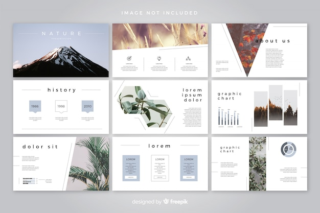 Presentation Template Vectors, Photos and PSD files | Free Download