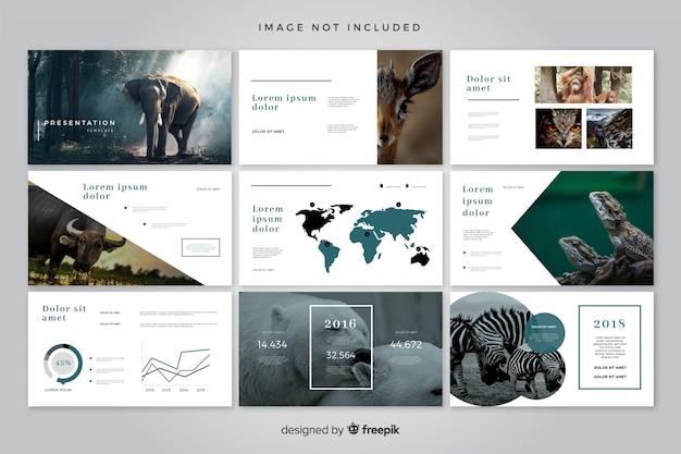 Minimal slides template