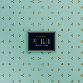 Minimal small triangle style vintage pattern background
