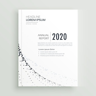 Minimal style business brochure design