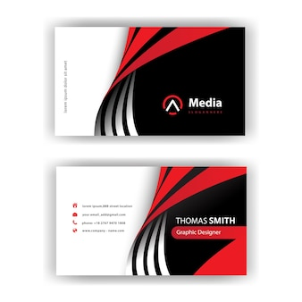 Minimal stylish business card