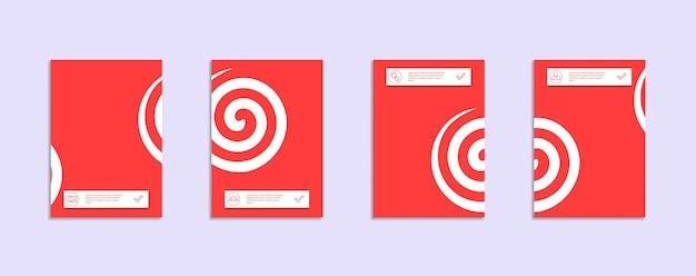 최소한의 벡터는 디자인 서식 파일을 다룹니다.