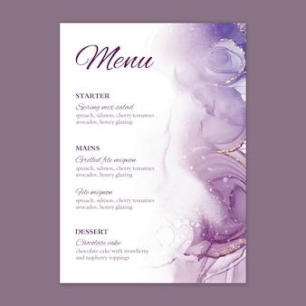 Минимальное свадебное меню