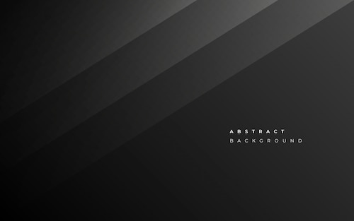 Minimalist abstract black business background
