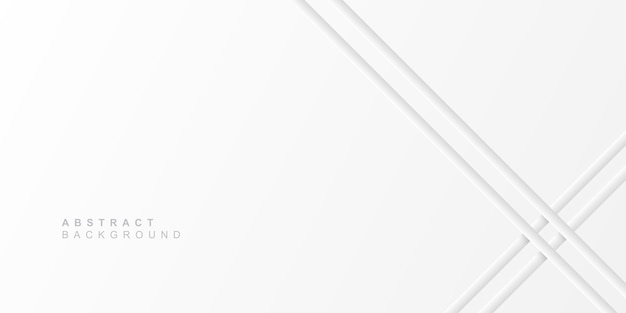 Minimalist abstract white background